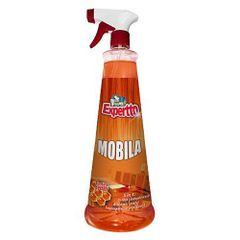 Solutie pentru mobila Expertto, cu pulverizator, 750 ml
