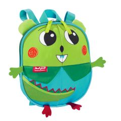 Ghiozdan prescolar Bodypack Dino, verde