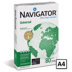 Hartie copiator A4 Navigator, 80 g/mp, 500 coli/top