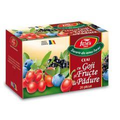 Ceai Fares Goji si Fructe de padure, 20 plicuri/cutie