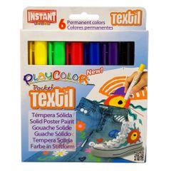 Set-tempera-solida-Instant-pentru-textile-6-bucati