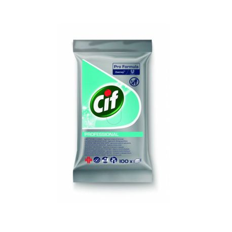 Servetele umede Cif, 100 buc/pachet
