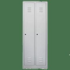 Vestiar metalic cu 2 usi, 600x500x1800 mm