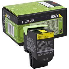 Toner Lexmark OEM 80C20Y0, galben