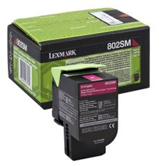 Toner Lexmark OEM 80C2SM0, magenta