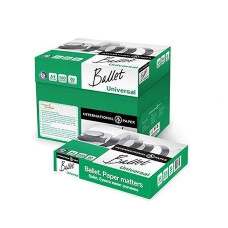 Hartie copiator A4 Ballet Universal 80 g/mp, 500 coli/top, 5 topuri/cutie