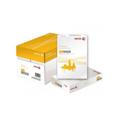 Hartie copiator A4 Xerox Exclusive 80 g/mp, 500 coli/top, 5 topuri/cutie